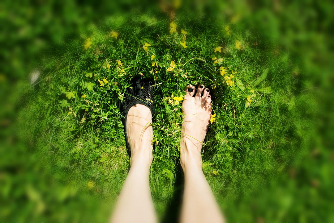 Barfuß Füße